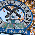 Danish Mill Bakery In Solvang California by David Millenheft