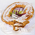 Danish Pastry Ring With Pecan Filling by Iris Richardson