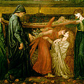 Dantes Dream At The Time Of The Death Of Beatrice 1856 by Philip Ralley