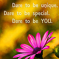 Dare To Be You by Darren Fisher
