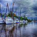 Darien Harbor by Priscilla Burgers