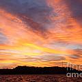 Darien Sunset by James Brunker