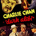 Dark Alibi, Top Left Sidney Toler by Everett
