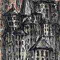 Dark City by Maxim Komissarchik
