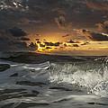 Dark Clouds by  Island Sunrise and Sunsets Pieter Jordaan