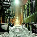 Dark Gritty Alleyway by Denis Tangney Jr