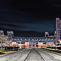 Dark Skies At Citizens Bank Park by Bill Cannon