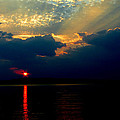 Cloudy Sunset by James C Thomas
