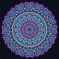 Darren's Mandala by Joy McKenzie