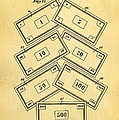 Darrow Monopoly Board Game 2 Patent Art 1935 by Ian Monk