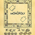 Darrow Monopoly Board Game Patent Art 1935 by Ian Monk