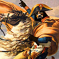 Darth Vader Star Wars Napoleon Painting by Tony Rubino