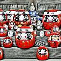 Daruma Dolls by Delphimages Photo Creations