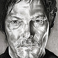 Daryl Dixon - The Walking Dead by Fred Larucci