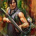 Daryl Dixon Walker Killer by Rob Corsetti