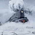 Dashing Through The Snow by David Mittner