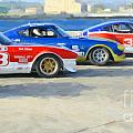 Datsun Z Racers At Sebring by Tad Gage