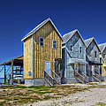 Dauphin Island Fishing Houses by Mountain Dreams