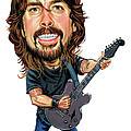 Dave Grohl by Art