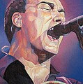 Dave Matthews Colorful Full Band Series by Joshua Morton