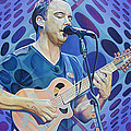 Dave Matthews-op Art Series by Joshua Morton