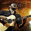 Dave Matthews Scream by Jennifer Rondinelli Reilly - Fine Art Photography