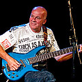 Dave Pegg Bass Player For Fairport Convention And Jethro Tull by Randall Nyhof
