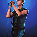David Bowie 2 Painting by Paul Meijering