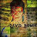 David Bowie by Absinthe Art By Michelle LeAnn Scott