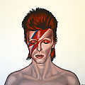 David Bowie Aladdin Sane by Paul Meijering
