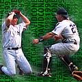 David Cone Yankees Perfect Game 1999 Zoom by Tony Rubino