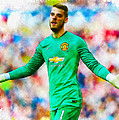 David De Gea Of Manchester United by Don Kuing