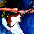 David On Guitar by Beverly Boulet
