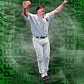 David Wells Yankees Perfect Game 1998 by Tony Rubino