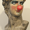 David With Makeup And Clown Nose 1 by Tim Nyberg