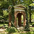 Davidson College Old Well by Orange Cat Art