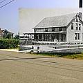 Davis House At Sakonnet Point In Little Compton Ri by Jeff Hayden