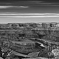 Dawn At Dead Horse Point Bw by Jerry Fornarotto