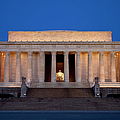 Dawn At Lincoln Memorial by Brian Jannsen