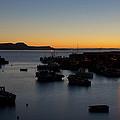 Dawn At Lyme Regis by Pete Hemington
