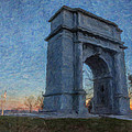 Dawn At The Arch by Jeff Oates Photography