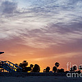 Dawn At Venice Beach by Art Block Collections