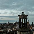 Dawn In Edinburgh by John Daly
