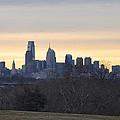 Dawn In Philadelphia by Bill Cannon