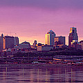 Dawn Kansas City Mo by Panoramic Images