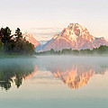 Dawn Of Oxbow Bend by Nian Chen