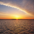 Dawn On The Chesapeak - St Michael's Maryland by Bill Cannon