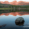 Dawn Over Sprague Lake In Rocky Mountain National Park by Fred Stearns