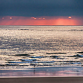 Dawns Red Sky Reflected by Jeff Folger