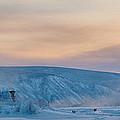 Dawson City Ice Bridge by Priska Wettstein